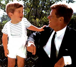 JFK-Jr-with-dad-JFK-Sr
