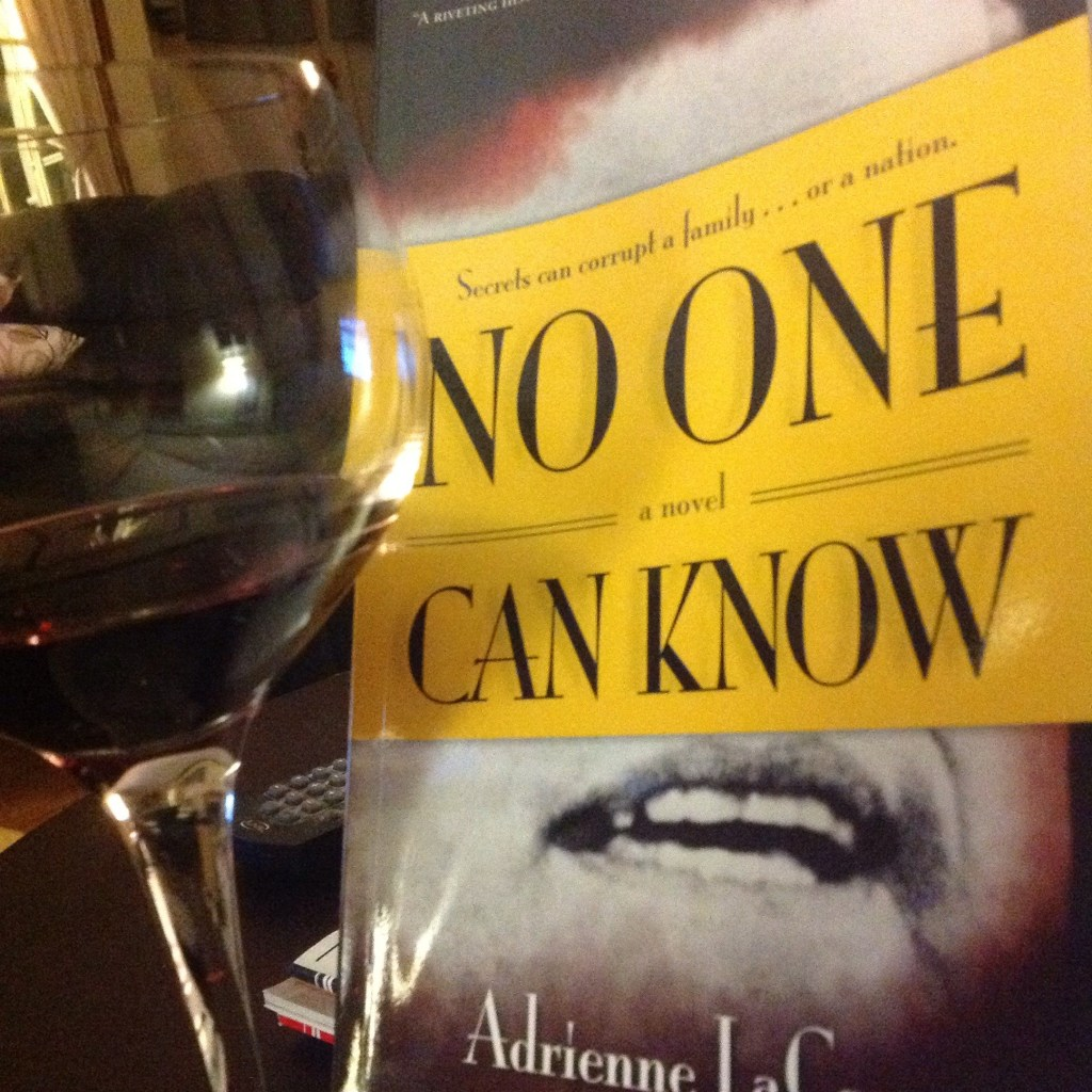 Quiet Sat night, nice wine and great book.SandyB